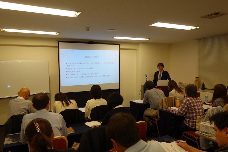 食育予防歯科セミナー《新大阪開催》の一場面