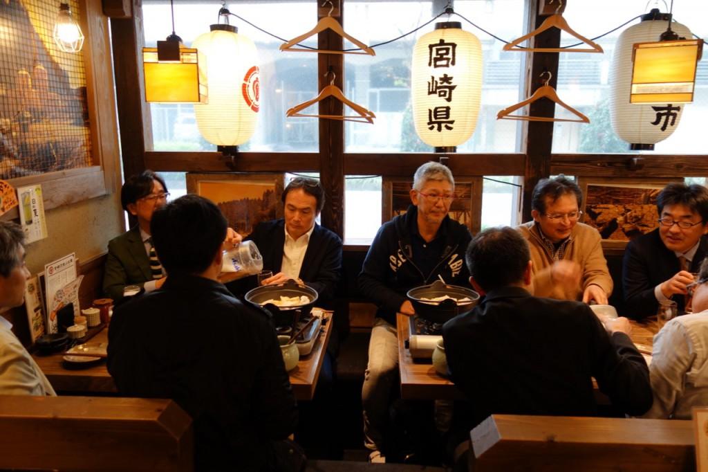 名古屋セミナー後の懇親会