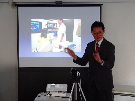 顕微鏡歯科の第一人者「三橋先生」のセミナー