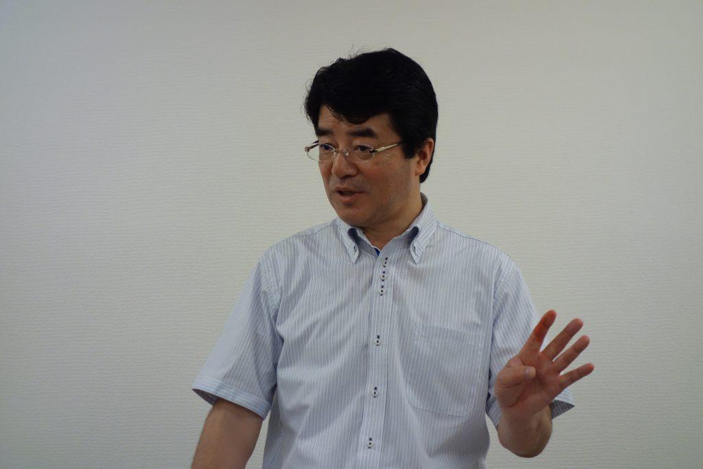 国際食育士協会の竹内英二先生